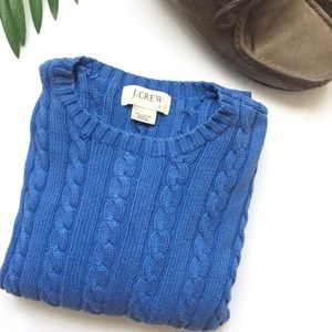 J Crew / Mens cable knit sweater
